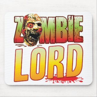 Lord Zombie Head Mousepads