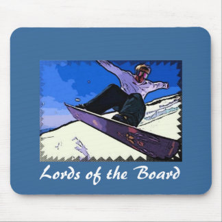 Lords of the Board Mouse Pad
