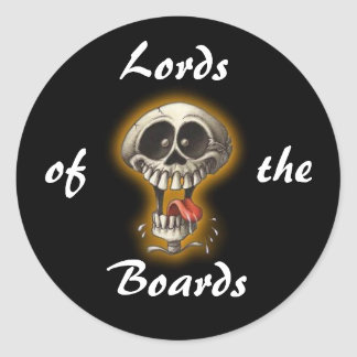 Lords, of, the, Boards Classic Round Sticker