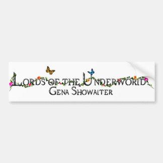 Lords of the Underworld bumper sticker. Bumper Sticker