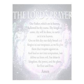 Lord's Prayer Customized Letterhead