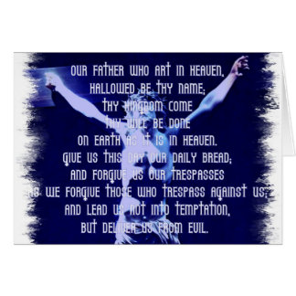 Lords Prayer Greeting Card