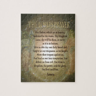Lord's Prayer Jigsaw Puzzle