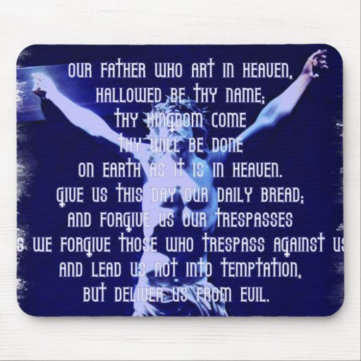 Lords Prayer Mouse Pad