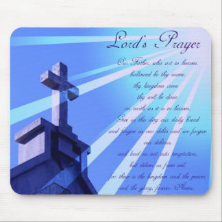 Lord's Prayer Mouse Pad