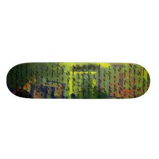 Lord's Prayer on Grundge Skateboards