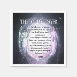 Lord's Prayer Paper Napkin