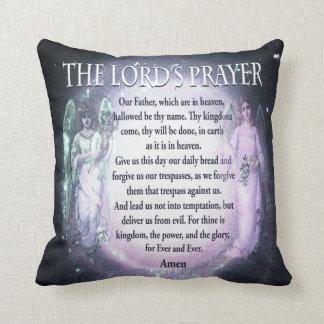 Lord's Prayer Throw Pillow