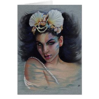 Loreley Mermaid Greeting Card