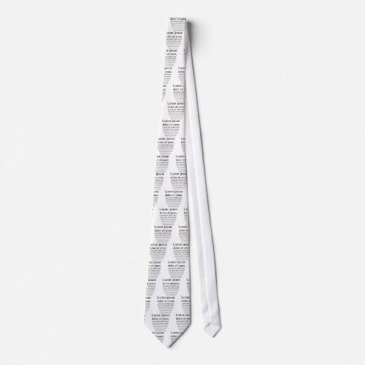 Lorem Ipsum Neck Tie