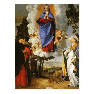 Lorenzo Lotto- Asolo Altarpiecel Postcard