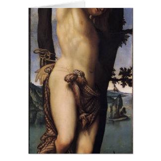 Lorenzo Lotto- St. Sebastian Card