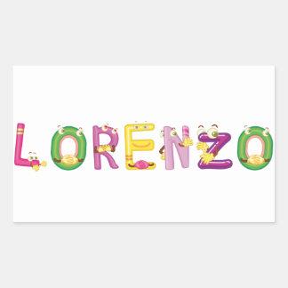 Lorenzo Sticker