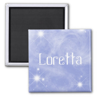 Loretta Starry Magnet by 369MyName