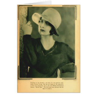 Loretta Young 1929 portrait Card