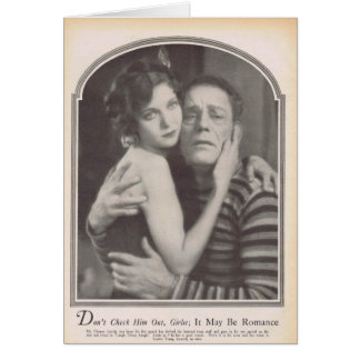 Loretta Young Lon Chaney 1928 Card