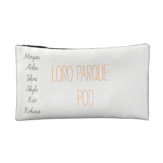 Loro parque pod cosmetic bag