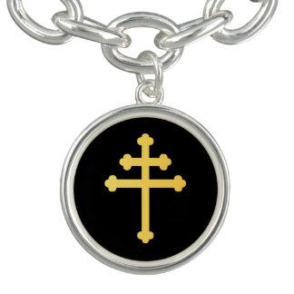 Lorraine cross charm bracelets