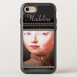 Lorraynna French  Romantic Girly Baroque Monogram OtterBox Symmetry iPhone 7 Case