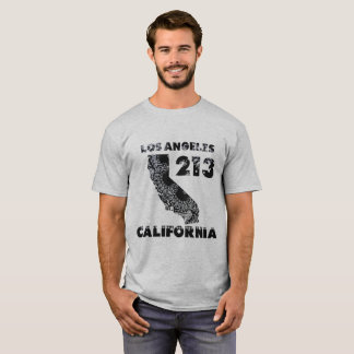 Los Angeles 213 California Paisley Bandanna T-Shirt