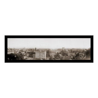 Los Angeles 3rd Grand Photo 1904 Poster