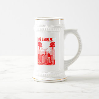 Los Angeles Beer Stein