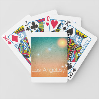 Los Angeles Bicycle Playing Cards