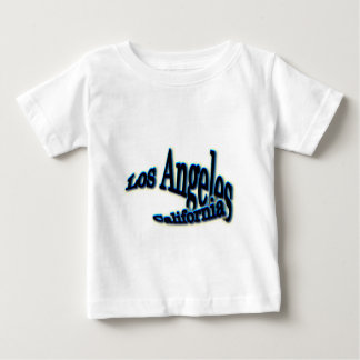 Los Angeles Blue  Wave Baby T-Shirt