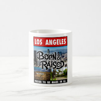 Los Angeles Born & Raised Coffee Mug