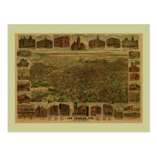 Los Angeles CA 1891 Postcard