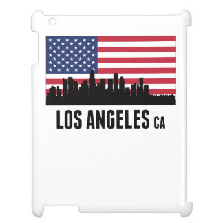 Los Angeles CA American Flag Cover For The iPad