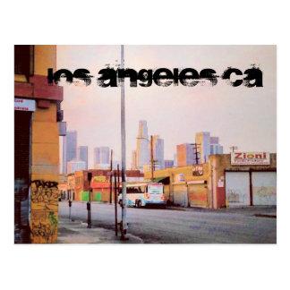 LOS ANGELES CA POSTCARD
