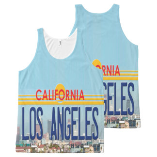 Los Angeles California All-Over-Print Tank Top