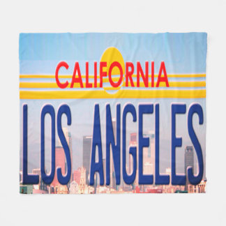 Los Angeles California Blanket