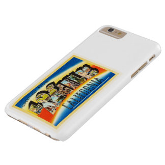 Los Angeles California CA Vintage Travel Souvenir Barely There iPhone 6 Plus Case