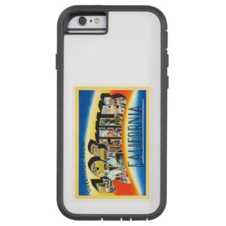 Los Angeles California CA Vintage Travel Souvenir Tough Xtreme iPhone 6 Case