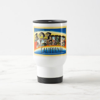 Los Angeles California CA Vintage Travel Souvenir Travel Mug