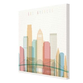 Los Angeles, California | City Skyline Canvas Print