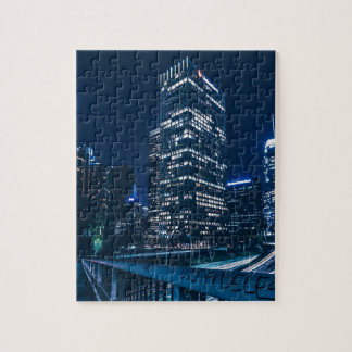 Los Angeles California City Urban Buildings Jigsaw Puzzle