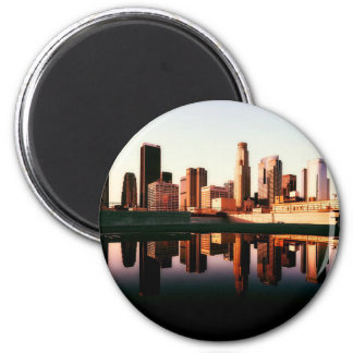 Los Angeles California City Urban Buildings Magnet
