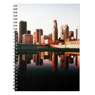 Los Angeles California City Urban Buildings Notebook
