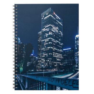 Los Angeles California City Urban Buildings Notebook