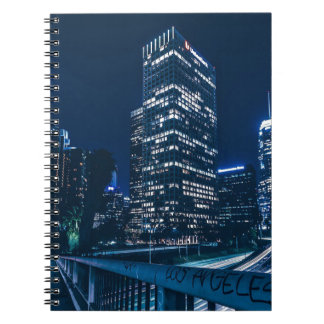 Los Angeles California City Urban Buildings Notebooks