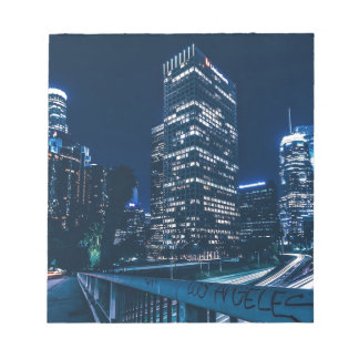 Los Angeles California City Urban Buildings Notepad