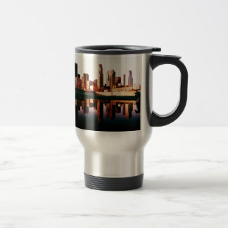 Los Angeles California City Urban Buildings Travel Mug
