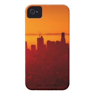 Los Angeles California City Urban Skyline iPhone 4 Case