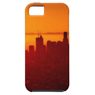 Los Angeles California City Urban Skyline iPhone 5 Case