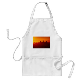 Los Angeles California City Urban Skyline Standard Apron