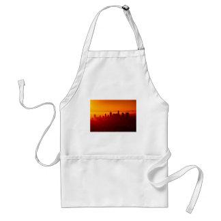Los Angeles California City Urban Skyline Standard Apron