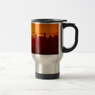 Los Angeles California City Urban Skyline Travel Mug